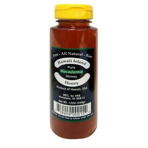 Hawaii Island Macadamia Honey - 12oz - image 1 of 1