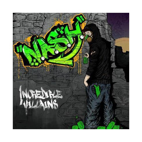 N.A.S.H. - Incredible Villains (CD) - image 1 of 1