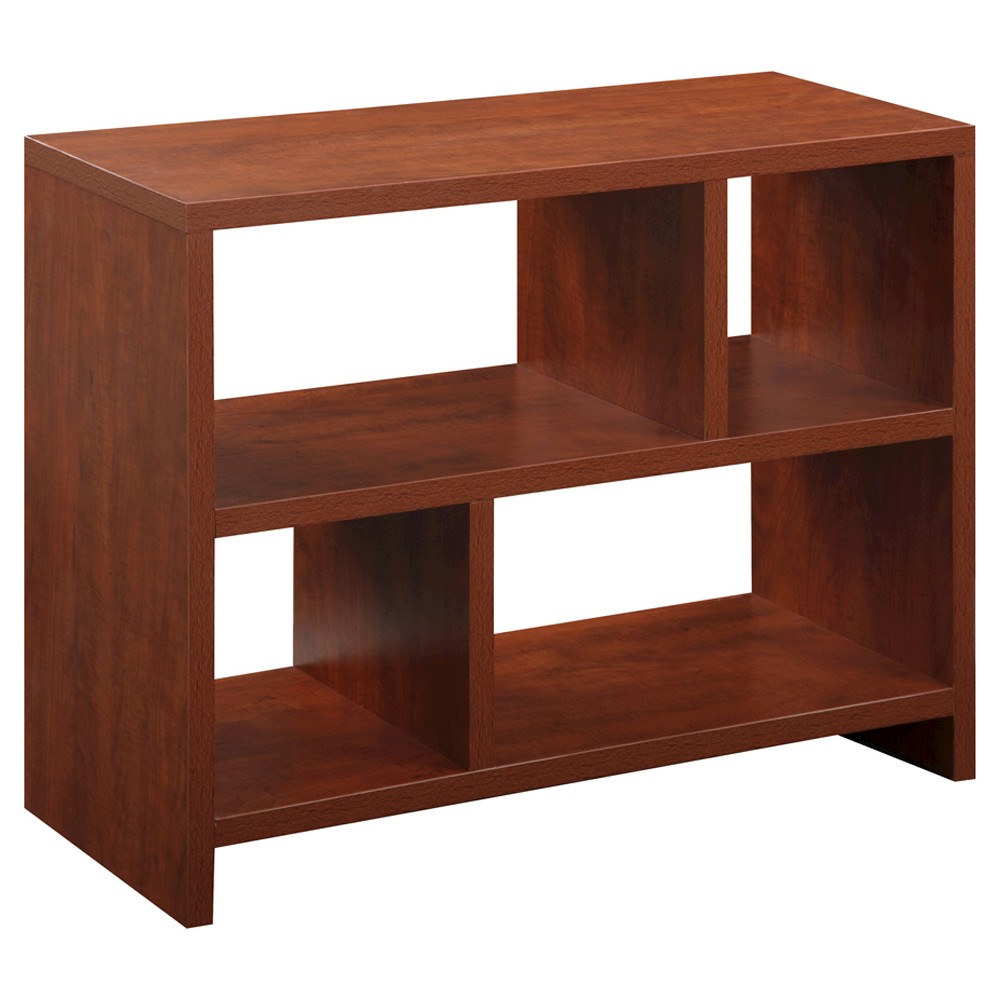 Northfield Cherry (Red) Console Table - Cherry - Convenience Concepts