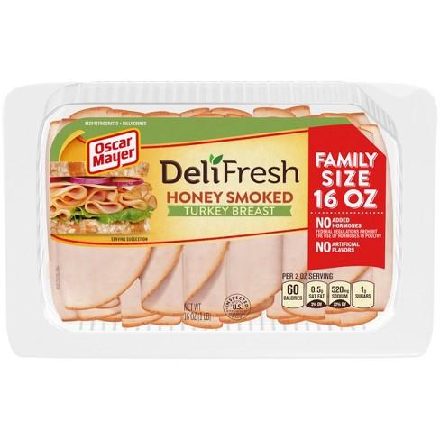 Oscar Mayer Deli Fresh Honey Smoked Turkey Breast - 16oz - image 1 of 3