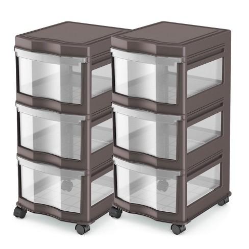 Life Story Clic 3 Shelf Storage