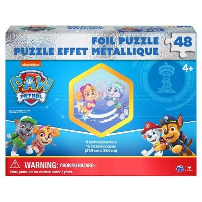 Cardinal Nickelodeon PAW Patrol Kids' Foil Effect Jigsaw Puzzle - 48pc