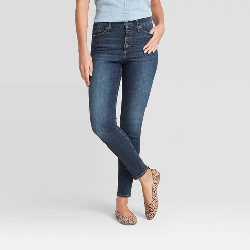 Women's Super High-Rise Skinny Jeans - Universal Thread™ - image 1 of 3