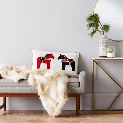 Coyote Faux Fur Throw Blanket - Project 62™