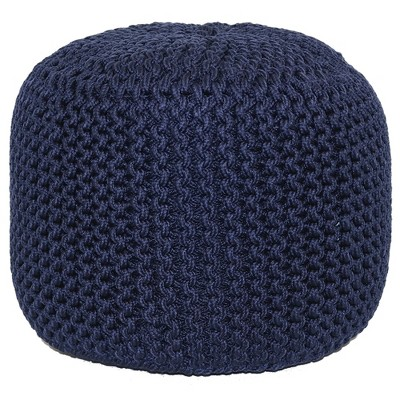 Outdoor Pouf - Navy Rope - Threshold™