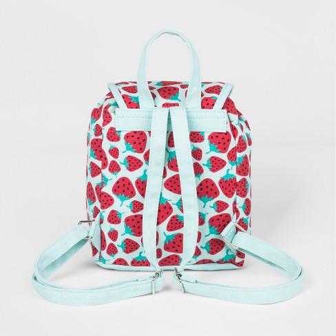 0de27ca4d95 Toddler Girls  Strawberry Backpack - Cat   Jack™ Blue   Target