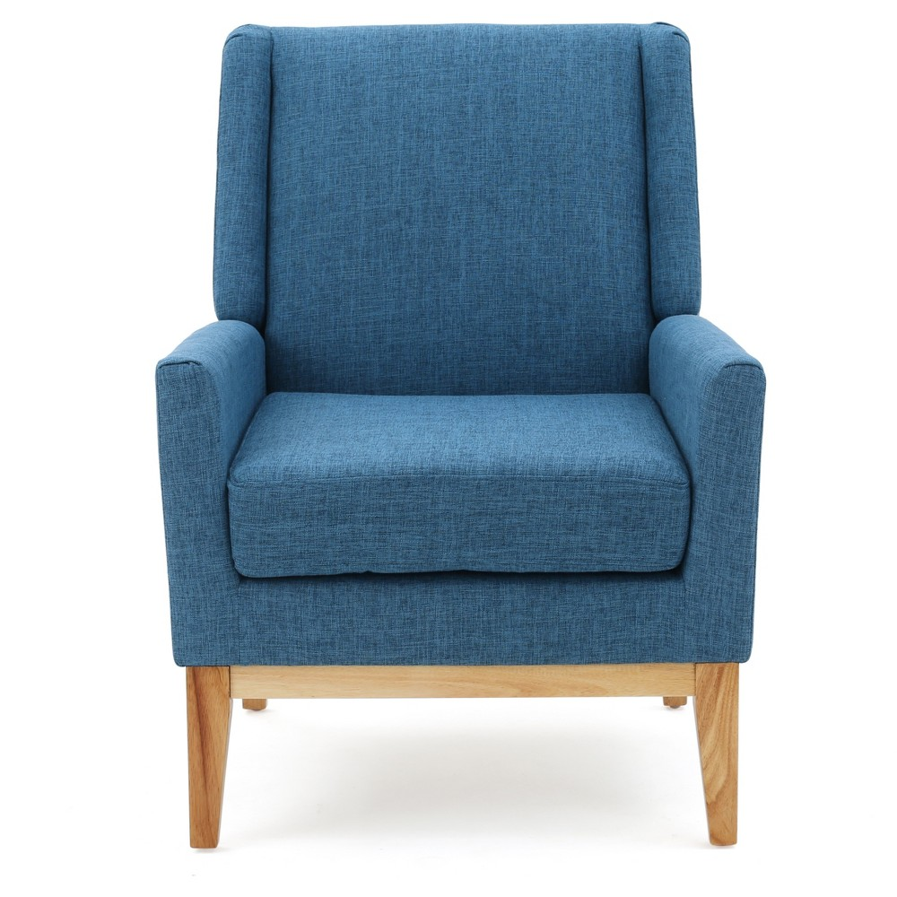 Aurla Upholstered Chair - Muted Blue - Christopher Knight Home