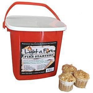 24pk All Natural Fire Starters - Superior Trading Co.