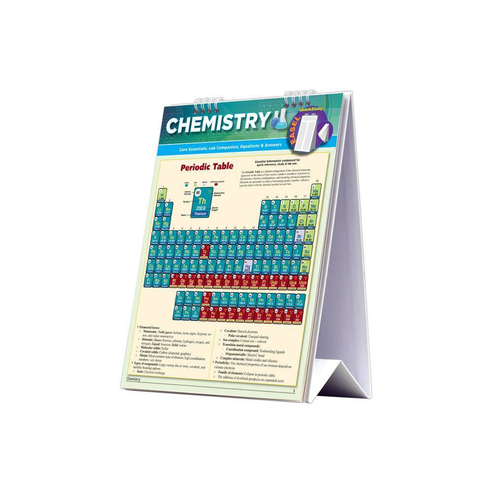 Chemistry Easel Book By Mark Jackson Poster