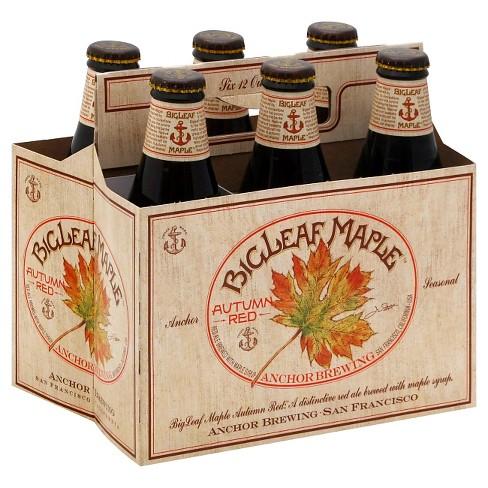 Anchor BigLeaf Maple Autumn Red Beer - 6pk/12 fl oz Bottles - image 1 of 1