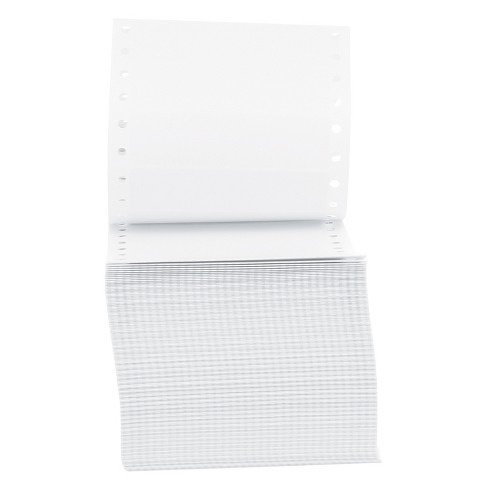 Universal® Dot Matrix Printer Labels, 1 Across, 15/16 x 3-1/2, White, 5000/Box - image 1 of 3