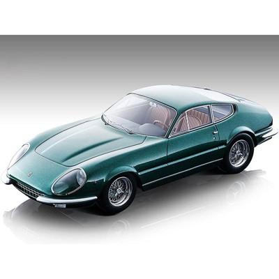 "1967 Ferrari 365 GTB/4 Daytona Prototipo Green Metallic ""Mythos Series"" Limited Edition to 55 pcs 1/18 Model Car by Tecnomodel"