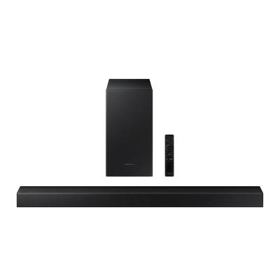 Samsung 2.1Ch 210W Soundbar with Wireless Sub (HW-A40M)- Black