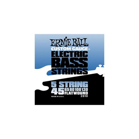 Ernie Ball 2810 Flatwound 5-String Bass Strings Set - image 1 of 1