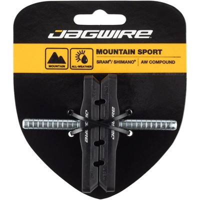Jagwire Mountain Sport Smooth Brake Shoe and Pad