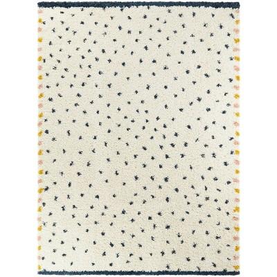 7'x10' Confetti Blue Shag - Balta Rugs
