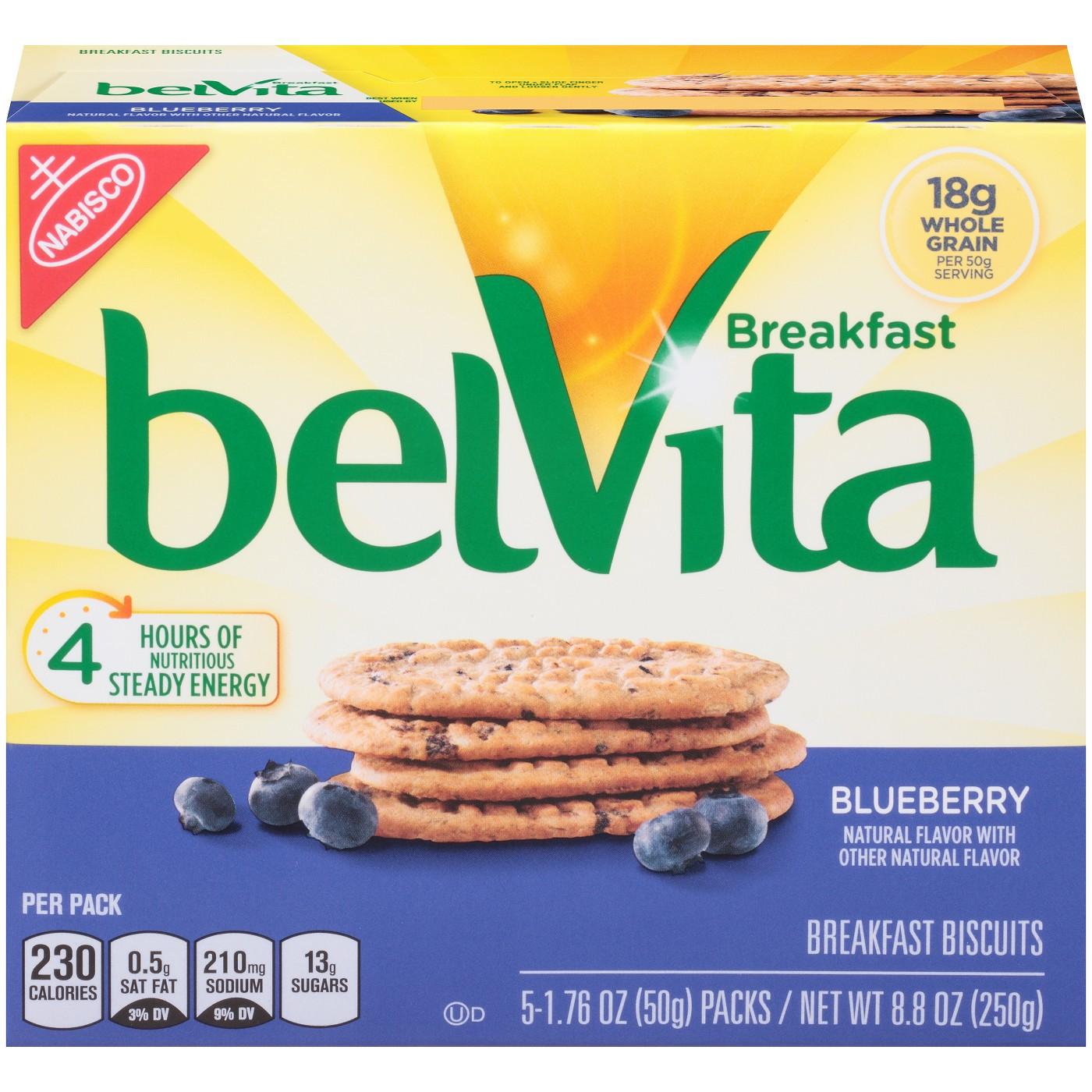 Belvita Blueberry Breakfast Biscuits - 8.8oz - image 1 of 7