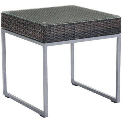 Zuo Modern Patio Furniture.Zuo Modern 703837 Malibu 22 Wide Aluminum Frame Outdoor End Table