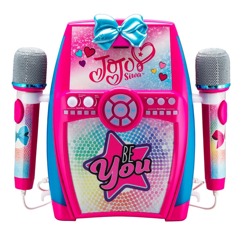 Nickelodeon JoJo Siwa Be You Sing Along Boombox with Dual Microphones