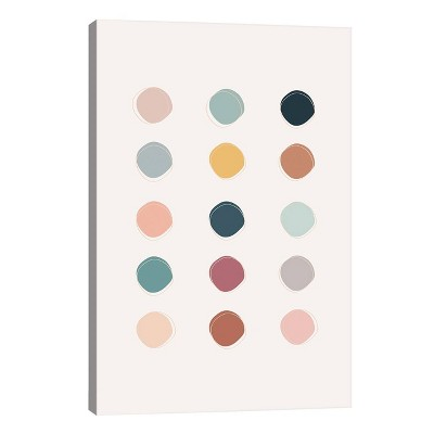 Colour Palette by The Native State Unframed Wall Canvas Print - iCanvas