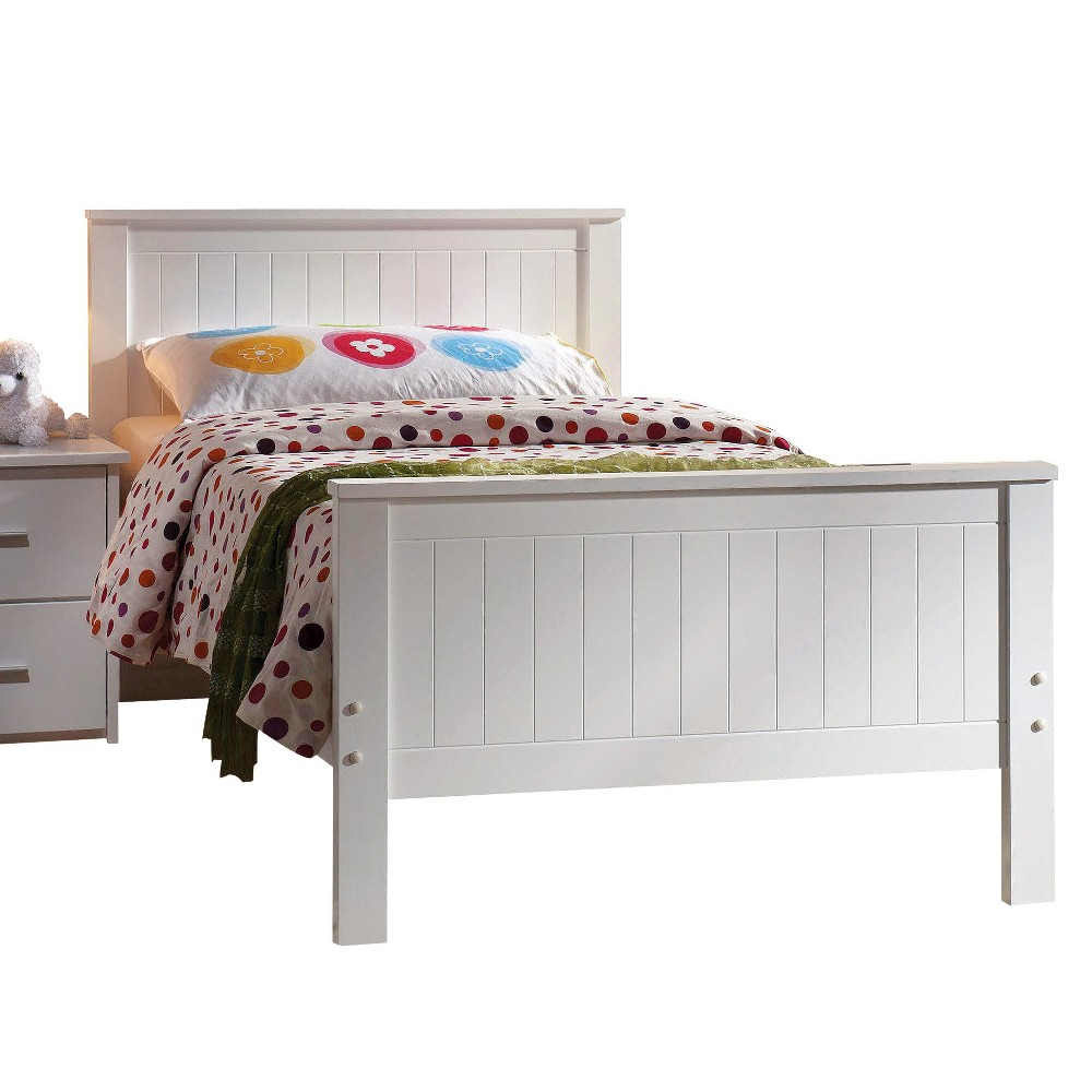 Bungalow Kids Bed - White(Twin) - Acme