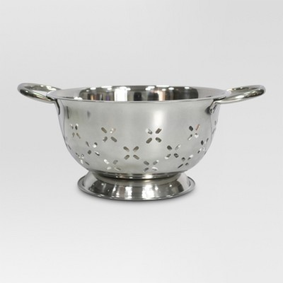 Stainless Steel Colander - 3 qt. - Threshold™