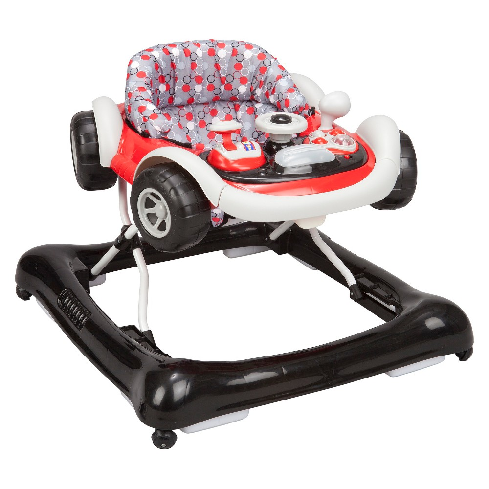 Image of Delta Children Lil' Drive Walker, White Red Black