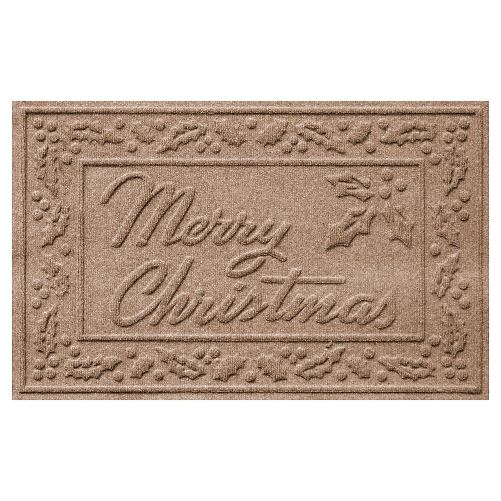 Medium Brown Typography Doormat - (2'X3') - Bungalow Flooring