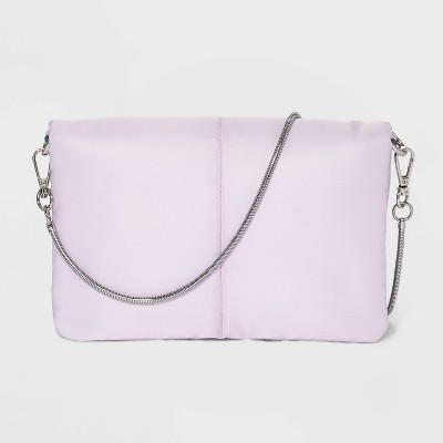 Puffer Magnetic Closure Crossbody Bag - A New Day™