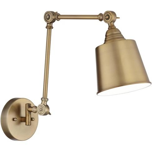 360 Lighting Modern Swing Arm, Brass Swing Arm Wall Lamp Uk
