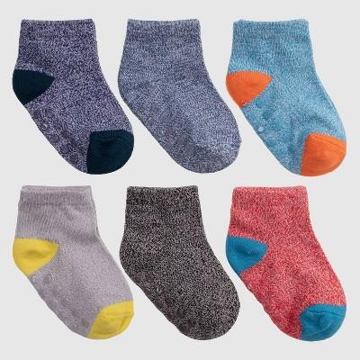 Toddler 6pk Low Cut Socks - Cat & Jack™