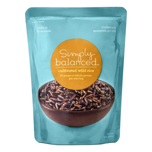 Wild Rice Microwaveable Pouch 8oz - Simply Balanced™ - image 1 of 3
