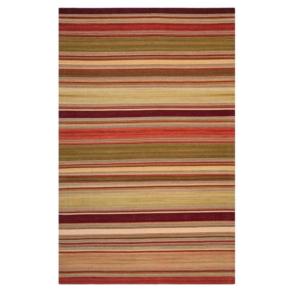 Striped Kilim Rug - Red - (6'x9') - Safavieh
