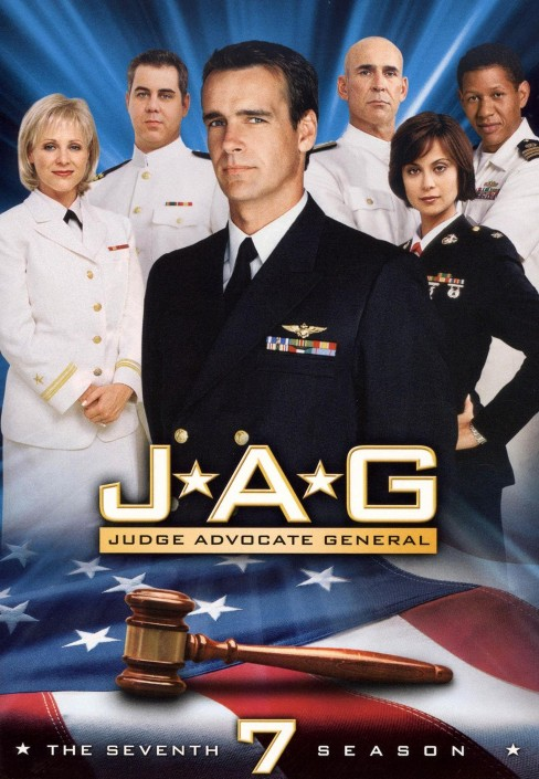 JAG: The Seventh Season (5 Discs) (dvd_video) - image 1 of 1