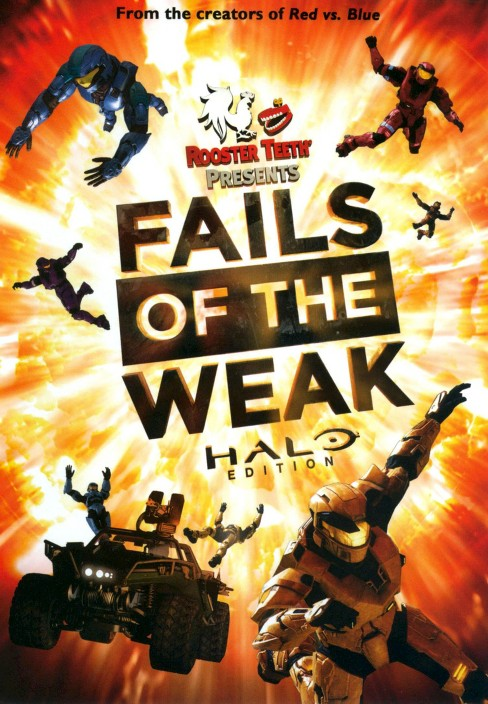 Rooster teeth:Best fails of the weak (DVD) - image 1 of 1