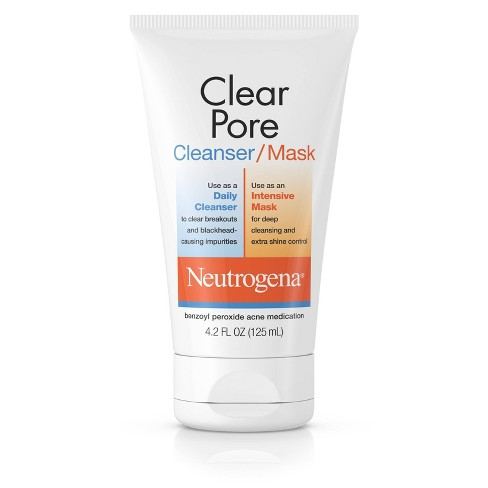 Neutrogena Clear Pore Facial Cleanser/Mask - 4.2 fl oz - image 1 of 4