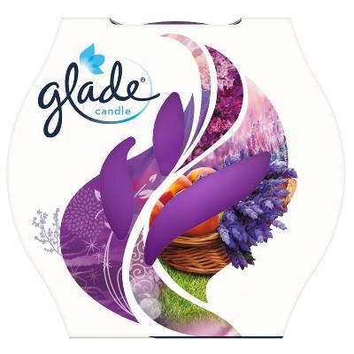 Glade Candle - Lavender & Peach- 3.4oz