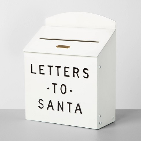 Letters to Santa Mailbox Sour Cream - Hearth & Hand™ with Magnolia - image 1 of 4