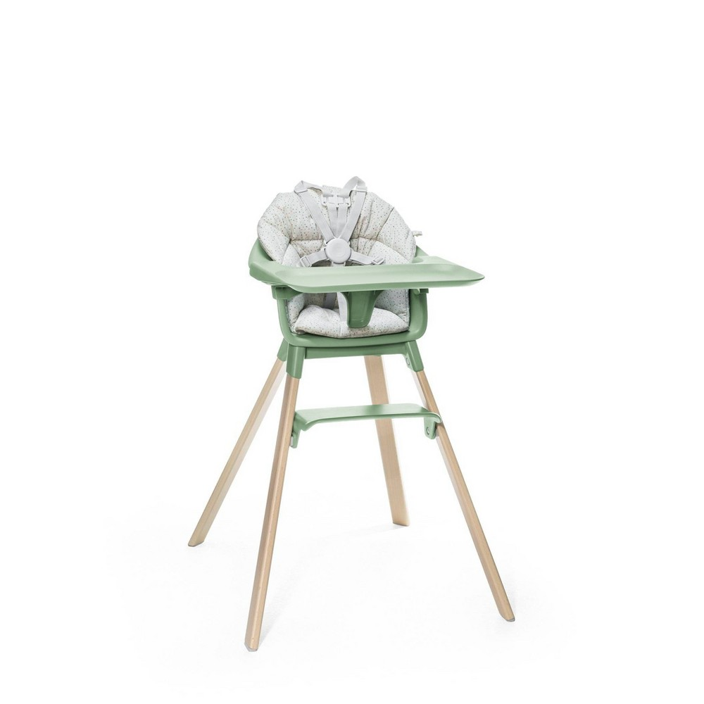 Image of Stokke Clikk High Chair Cushion - Gray Sprinkle OCS
