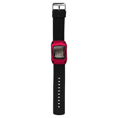 Boys' Fusion Race Car Digital Watch - Red - image 1 of 3