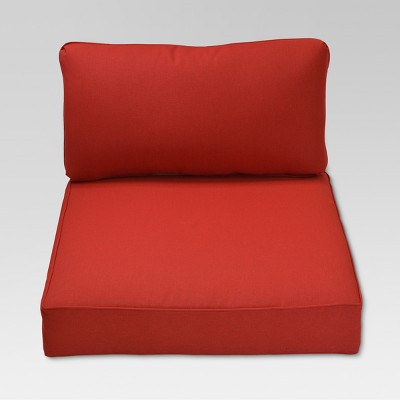 Fernhill 2pc Outdoor Deep Seating Cushion Set - Red - Threshold™