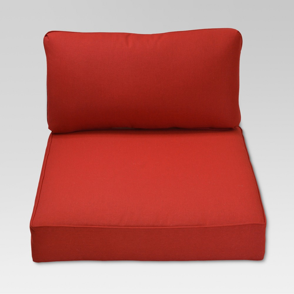 Fernhill 2pc Outdoor Deep Seating Cushion Set Red Threshold 8482