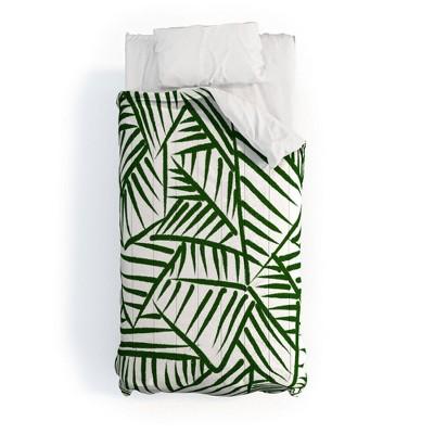Nadia M Lopez Linear 5 Polyester Comforter Set - Deny Designs