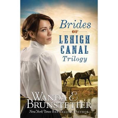 Brides of Lehigh Canal Trilogy - by  Wanda E Brunstetter (Paperback)