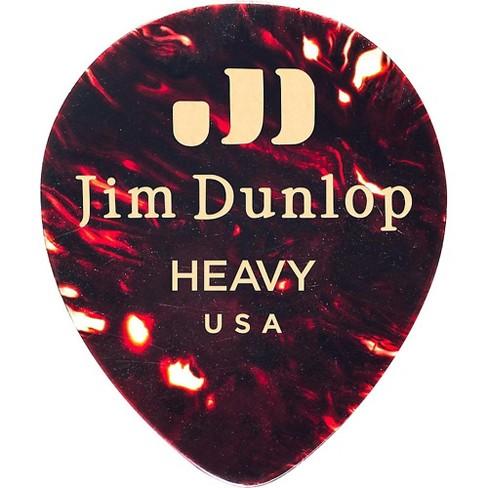 Dunlop Celluloid Teardrop Guitar Picks, Shell - image 1 of 2