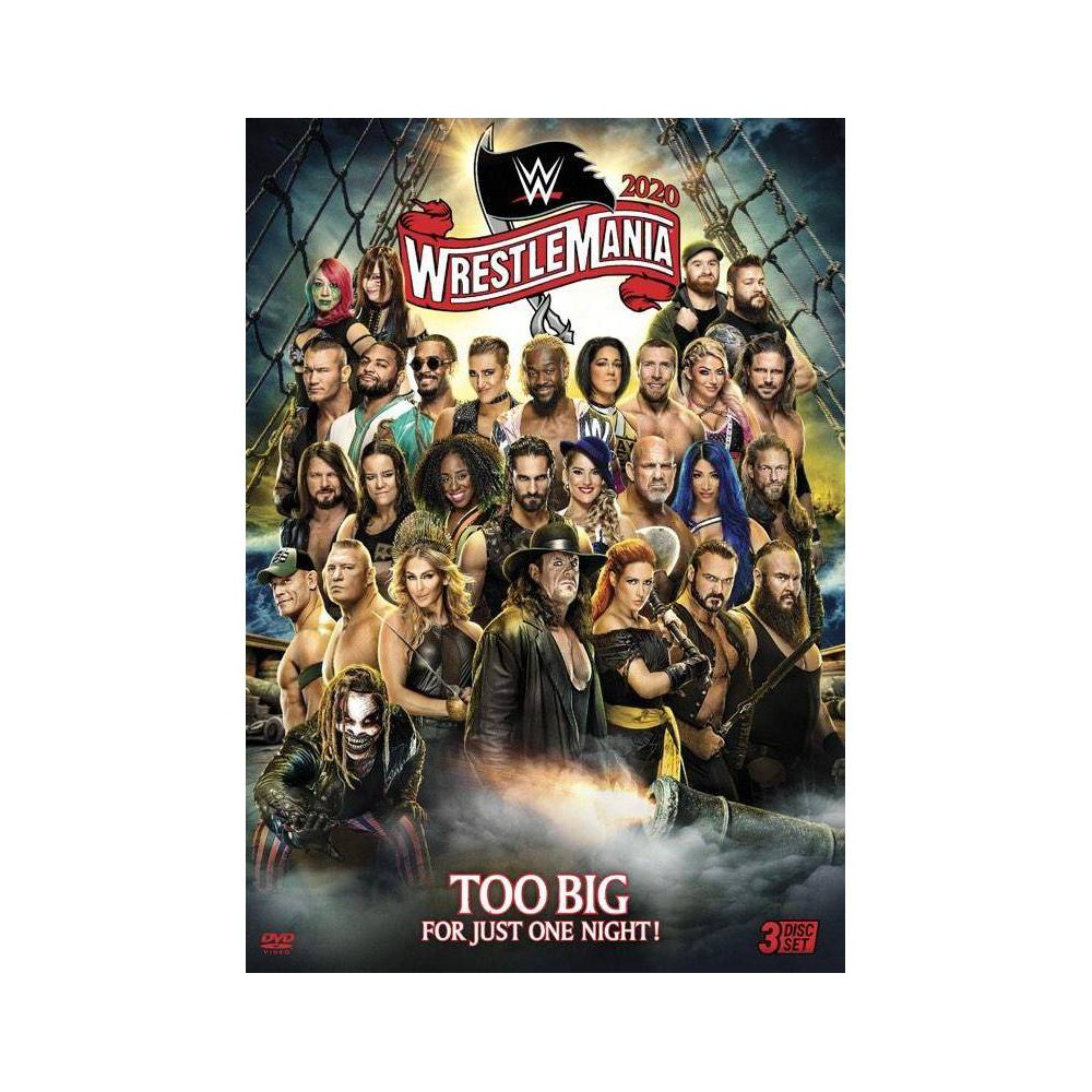 WWE: WrestleMania 36 (DVD) was $19.99 now $9.99 (50.0% off)