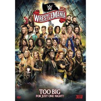 WWE: WrestleMania 36 (DVD)