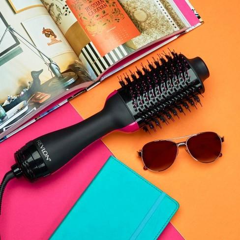Revlon Oval One-Step Hair Dryer & Volumizer - Black