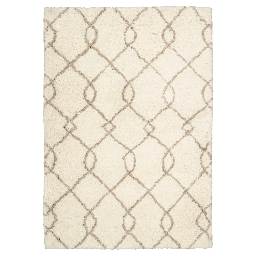 Waverly Galway Area Rug - Ivory/Tan (7'6