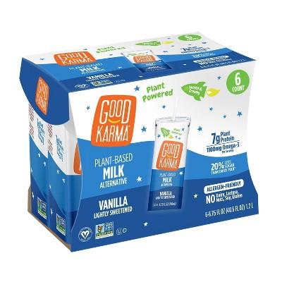 Good Karma Vanilla Flaxmilk - 6pk/6.75 fl oz Carton